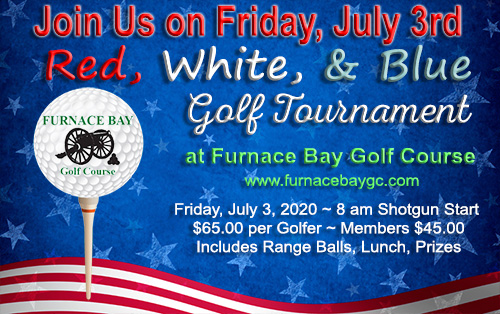 Red White and Blue Golf Tournament Furnace Bay Golf Course Cecil County Maryland July 3rd 2020