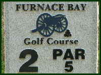 Furnace Bay Golf Course Hole 2 Tips