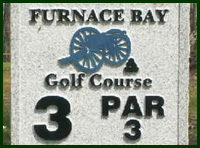 Furnace Bay Golf Course Hole 3 Tips