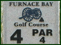 Furnace Bay Golf Course Hole 4 Tips