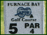 Furnace Bay Golf Course Hole 5 Tips