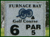 Furnace Bay Golf Course Hole 6 Tips