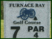 Furnace Bay Golf Course Hole 7 Tips