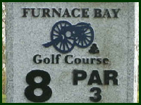 Furnace Bay Golf Course Hole 8 Tips