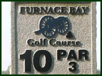 Furnace Bay Golf Course Hole 10 Tips