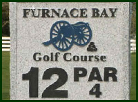 Furnace Bay Golf Course Hole 12 Tips