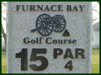 Furnace Bay Golf Course Hole 15 Tips
