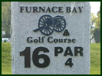 Furnace Bay Golf Course Hole 16 Tips