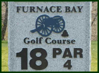 Furnace Bay Golf Course Hole 18 Tips