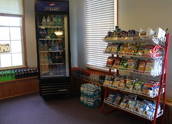 Furnace Bay Golf Carry Out Snacks and Beverages Bottled Drinks